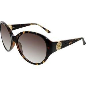 Guess Gradient Tortoiseshell Butterfly Sunglasses